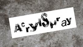Acrylspray
