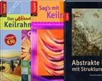 Bücher Keilrahmen/Strukturpaste
