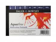"Daler Rowney Aquafine Aquarellblock ""Postkarte"" A6"