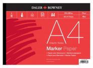 Daler-Rowney Marker Papier A4 50 Blatt