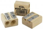 Buchenholz Doppelspitzer Wood 2