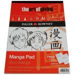 Daler Rowney Manga Pad A4 50 Blatt
