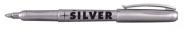 Rotbart Metallic Marker Silber 1,5-3mm