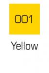 Kuretake ZIG Art & Graphic Marker Yellow 001