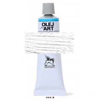 01 Zinkweiß Renensans Oils for Art 60ml Metalltube