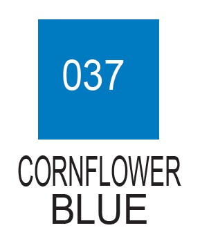 Kuretake ZIG Clean Color Real Brush 037 Cornflower Blue