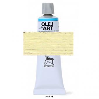 03 Hellgelb Renesans Oils for Art 60ml Metalltube
