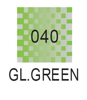 Wink of Stella Brush Green Glitzer Marker