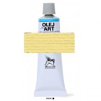 04 Neapelgelb hell Renesans Oils for Art 60ml Metalltube