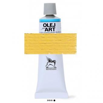 06 Neapelgelb dunkel Renesans Oils for Art 60ml Metalltube