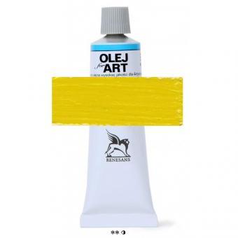 08 Ultramarin gelb Renesans Oils for Art 60ml Metalltube