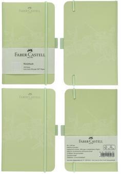 Faber-Castell Notizbuch Kariert A6 mint