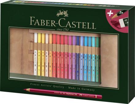 Faber Castell Stifterolle Verschenkset 34 teilig