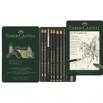 Faber Castell PITT Graphite Set klein 11er Metalletui