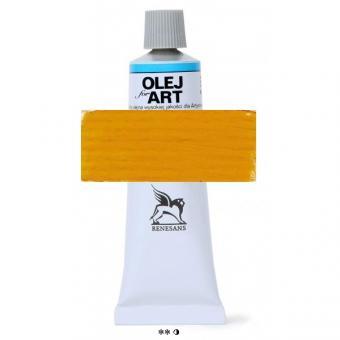 11 Kadmiumgelb dunkel Renesans Oils for Art 60ml Metalltube