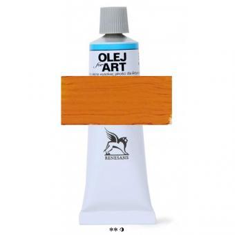 12 Kadmiumgelb orange Renesans Oils for Art 60ml Metalltube