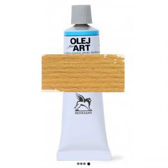 13 Gelber Ocker Renesans Oils for Art 60ml Metalltube