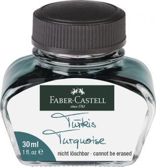 Faber Castell Tintenglas 30 ml Türkis