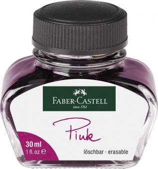 Faber Castell Tintenglas 30 ml Pink löschbar