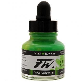 Daler Rowney Liquid Acryl Tinte 348 Light Green 29,5ml