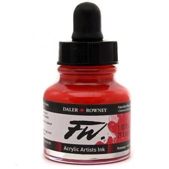 Daler Rowney Liquid Acryl Tinte 517 Flame Red 29,5ml