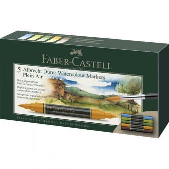 Faber Castell Aquarellmarker Albrecht Dürer 5er Etui Plai Air