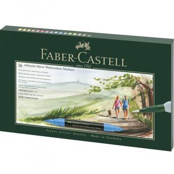 Faber Castell Aquarellmarker Albrecht Dürer 17tlg. Geschenketui