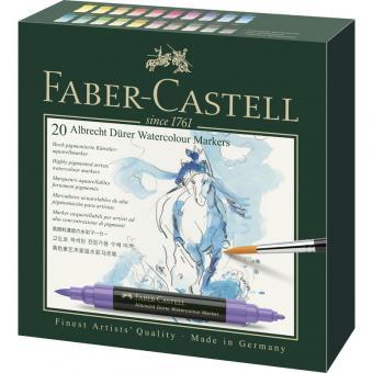 Aquarellmarker Faber Castell A. Dürer 20er Etui
