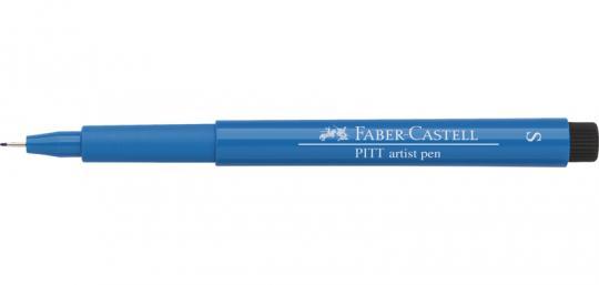 S 110 phthaloblau Faber Castell Tuschestift  PITT artist pen Fineliner
