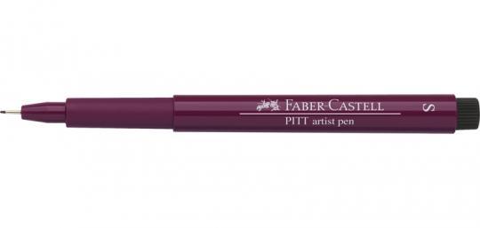 S 133 magenta Faber Castell Tuschestift  PITT artist pen Fineliner