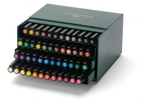 Faber Castell Tuschestift PITT artist pen B 48er Atelierbox