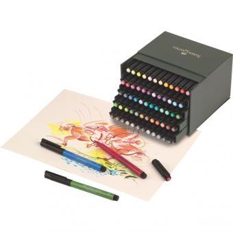 Faber Castell Tuschestift PITT artist pen B 60er Atelierbox