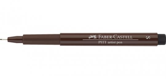 Faber Castell Tuschestift sepia dunkel 175 PITT artist pen S Fineliner