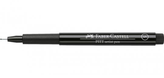 Faber Castell Tuschestift schwarz 199 PITT artist pen S Fineliner