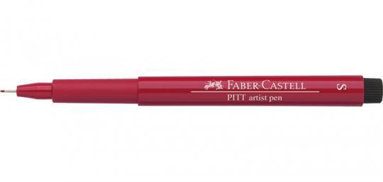 S 219 scharlachrot tief Faber Castell Tuschestift  PITT artist pen Fineliner