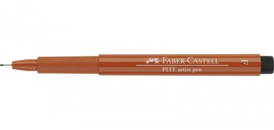Faber Castell Tuschestift rötel 188 PITT artist pen F Fineliner