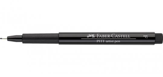 Faber Castell Tuschestift schwarz 199 PITT artist pen F Fineliner