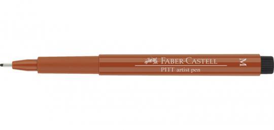 Faber Castell Tuschestift sepia dunkel 175 PITT artist pen M Fineliner