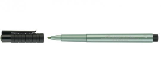 1,5mm 294 grün metallic Faber Castell Tuschestift  PITT artist pen