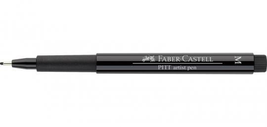 Faber Castell Tuschestift schwarz 199 PITT artist pen M Fineliner