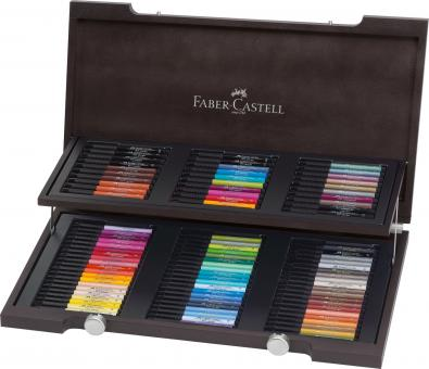 Faber Castell Tuschestift PITT artist pen B 90er Holzkoffer