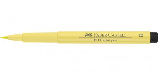 104 lichtgelb lasierend Faber Castell Tuschestift   PITT artist pen B