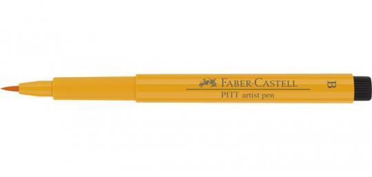 109 chromgelb dunkel Faber Castell Tuschestift  PITT artist pen B