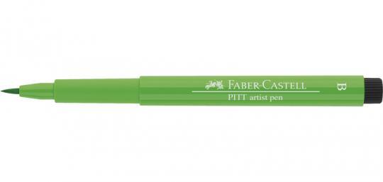 112 laubgrün Faber Castell Tuschestift  PITT artist pen B