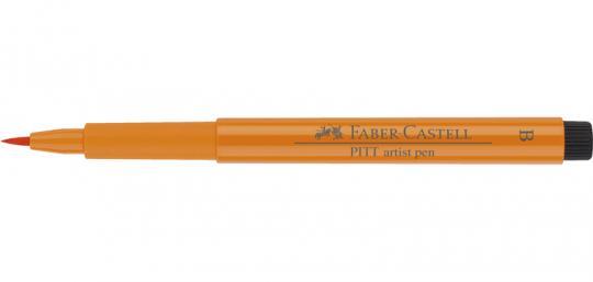 113 lasurorange Faber Castell Tuschestift  PITT artist pen B