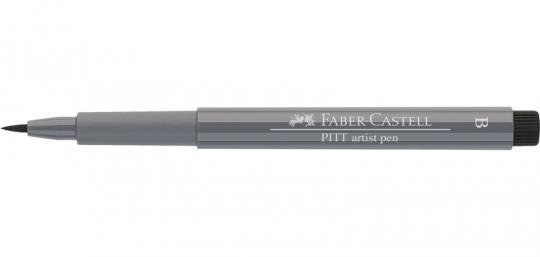 233 kaltgrau IV Faber Castell Tuschestift  PITT artist pen B