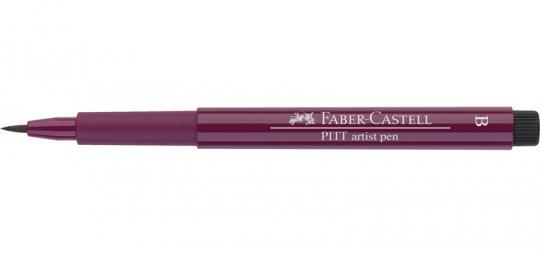 133 magenta Faber Castell Tuschestift  PITT artist pen B