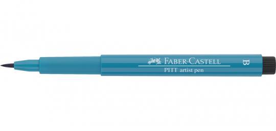 153 kobalttürkis Faber Castell Tuschestift  PITT artist pen B