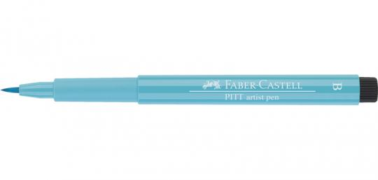 154 kobalttürkis hell Faber Castell Tuschestift  PITT artist pen B