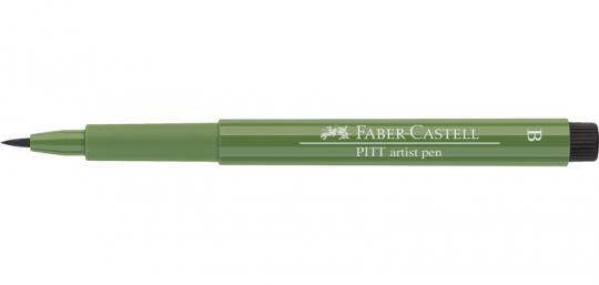 167 permanetgrün oliv Faber Castell Tuschestift PITT artist pen B